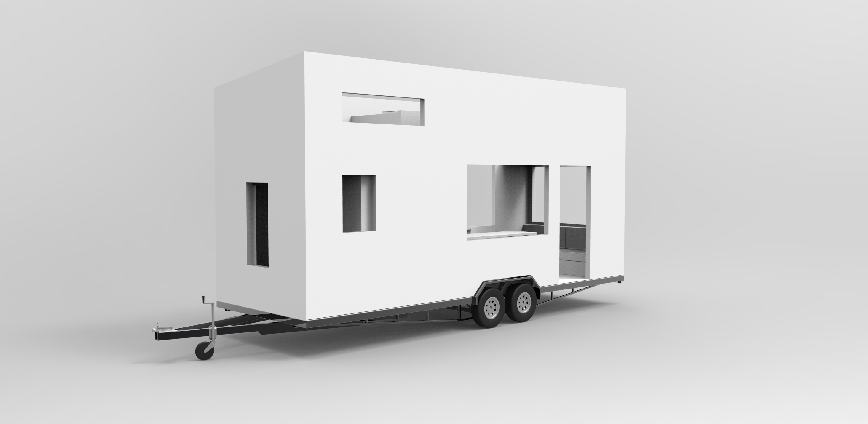 Living Small - Christchurch New Zealand - Design completed by TINKA on tiny house 3d model, tiny house sketch up, tiny house fad, tiny house blueprints,